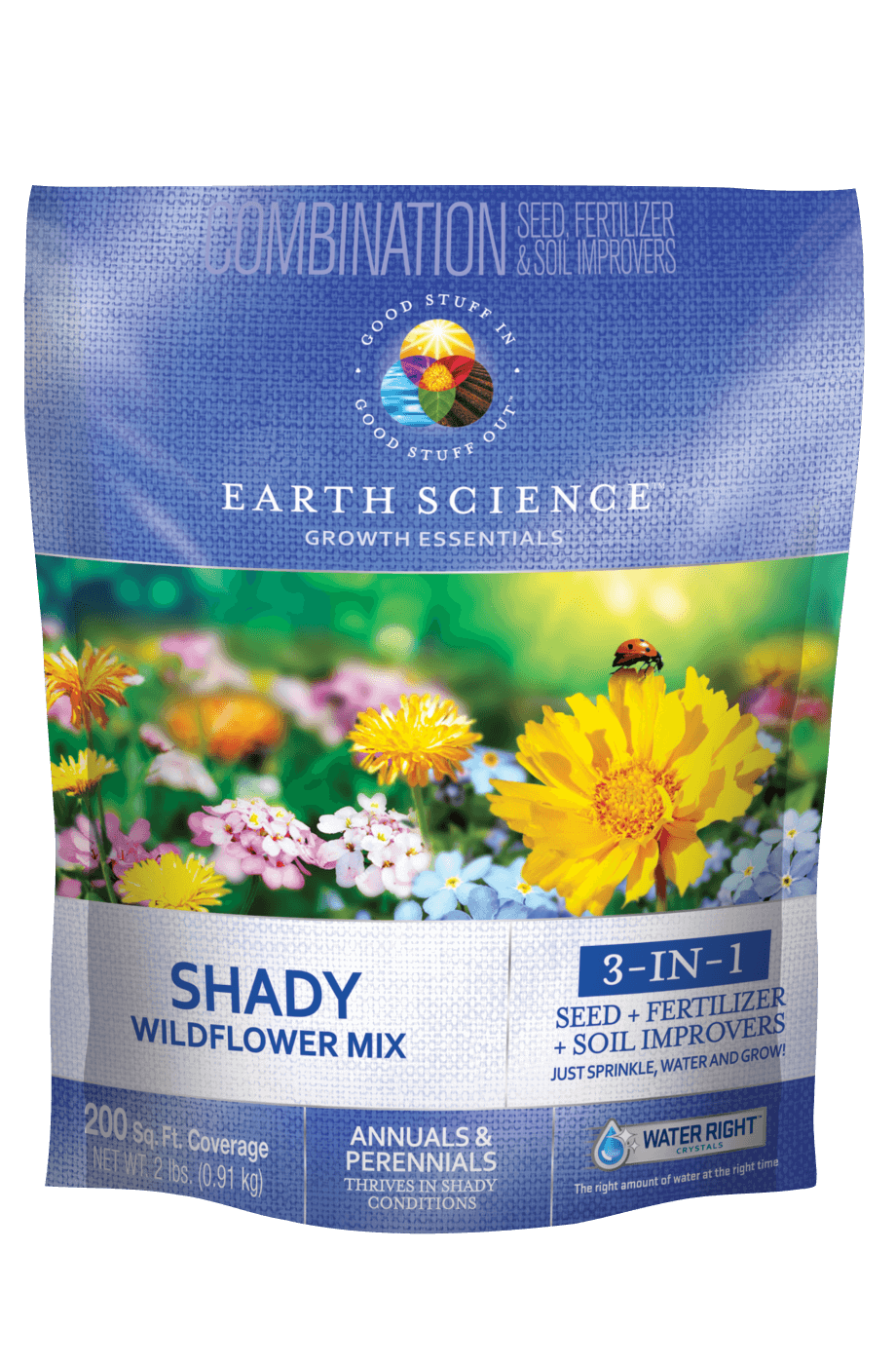 Earth Science Wildflower Shady Mix