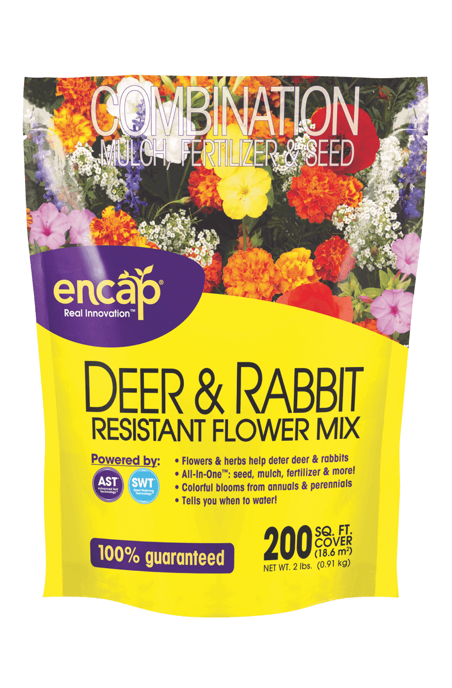 Deer & Rabbit Resistant Flower Mix Package
