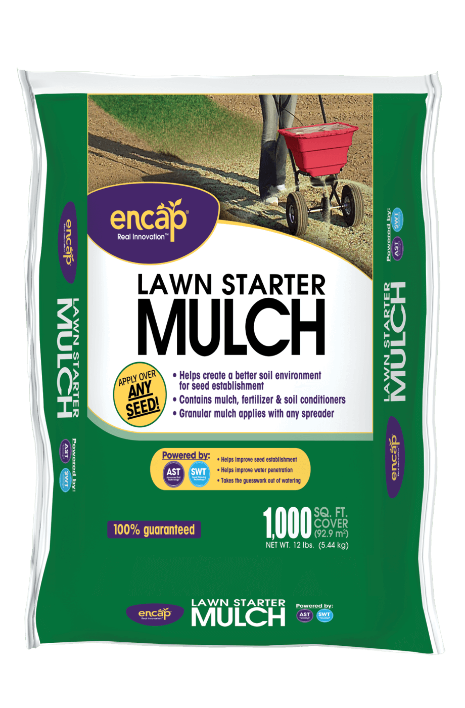 12lb Lawn Starter Mulch Package