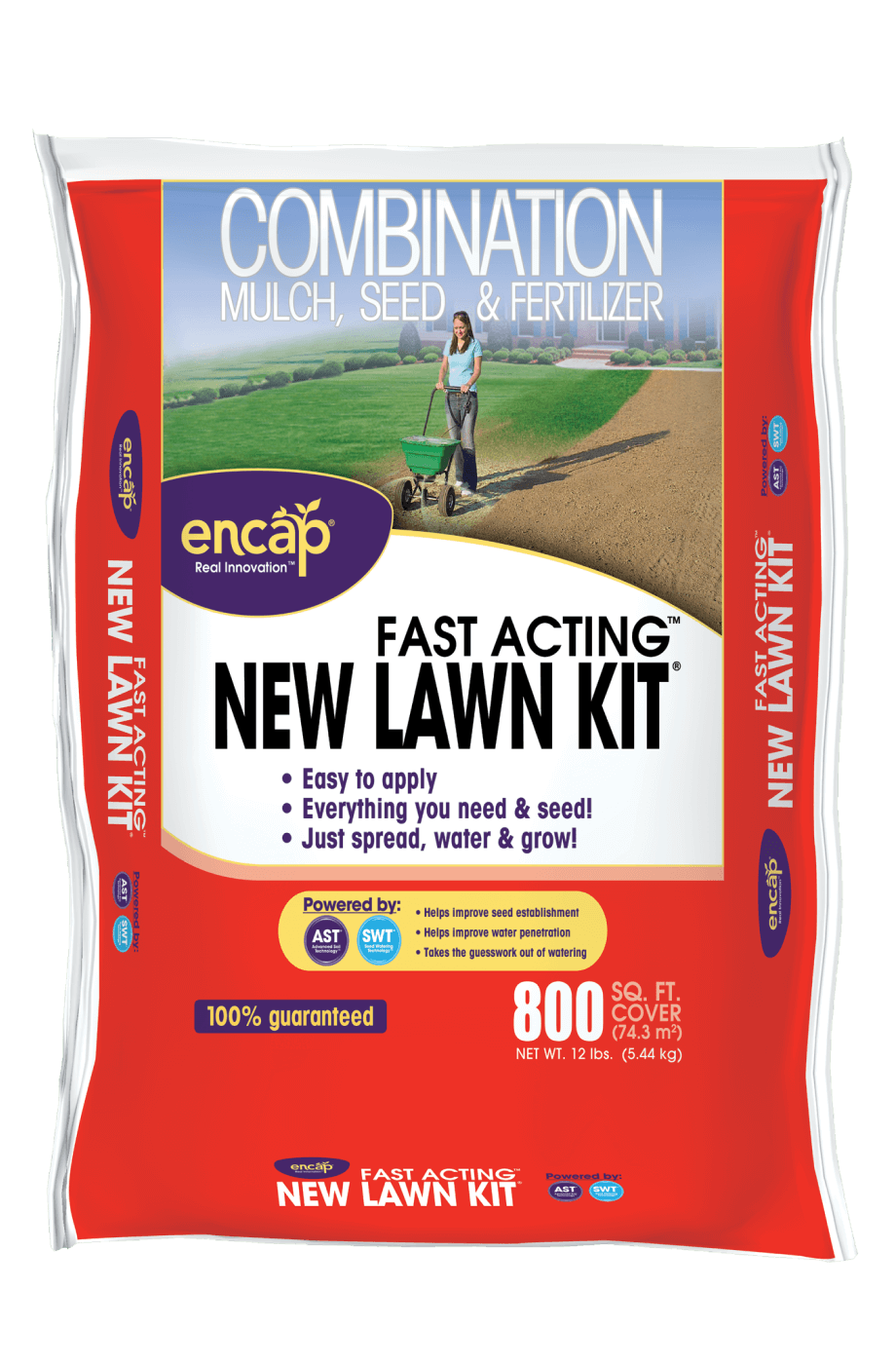 12lb New Lawn Kit Package