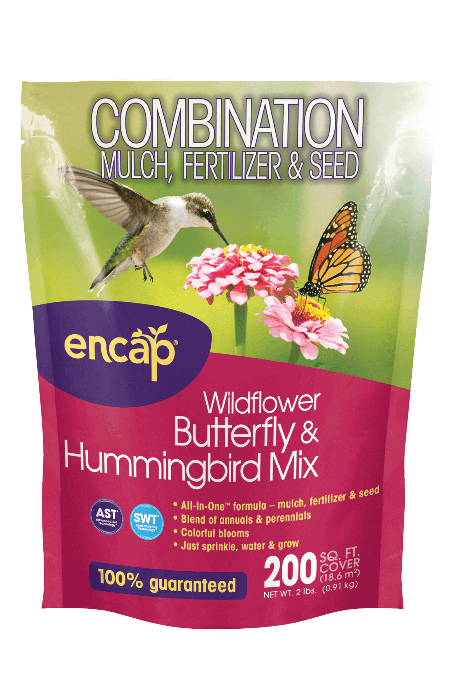 Wildflower Bullterfly & Hummingbird Mix Package