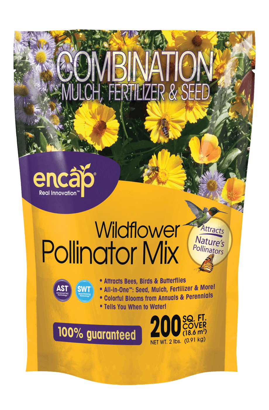Wildflower Pollinator Mix Package