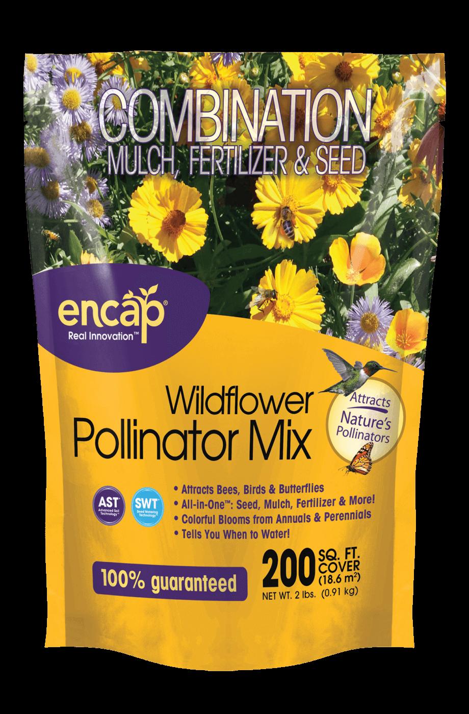 Wildflower Pollinator Mix Package